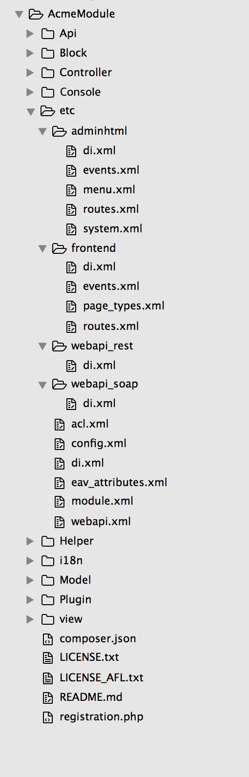 file structure module