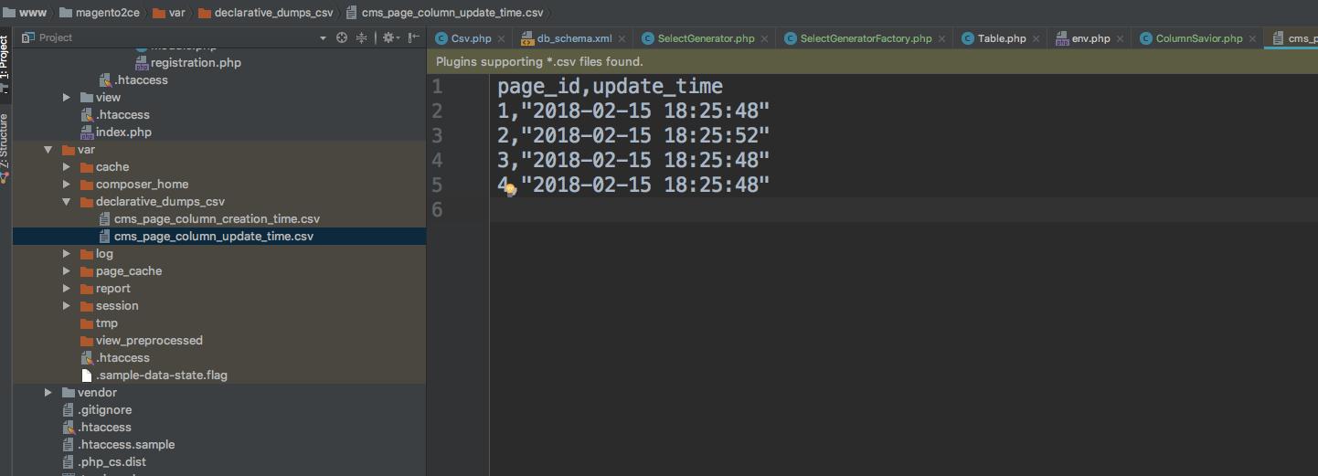 Migrate install/upgrade scripts to declarative schema