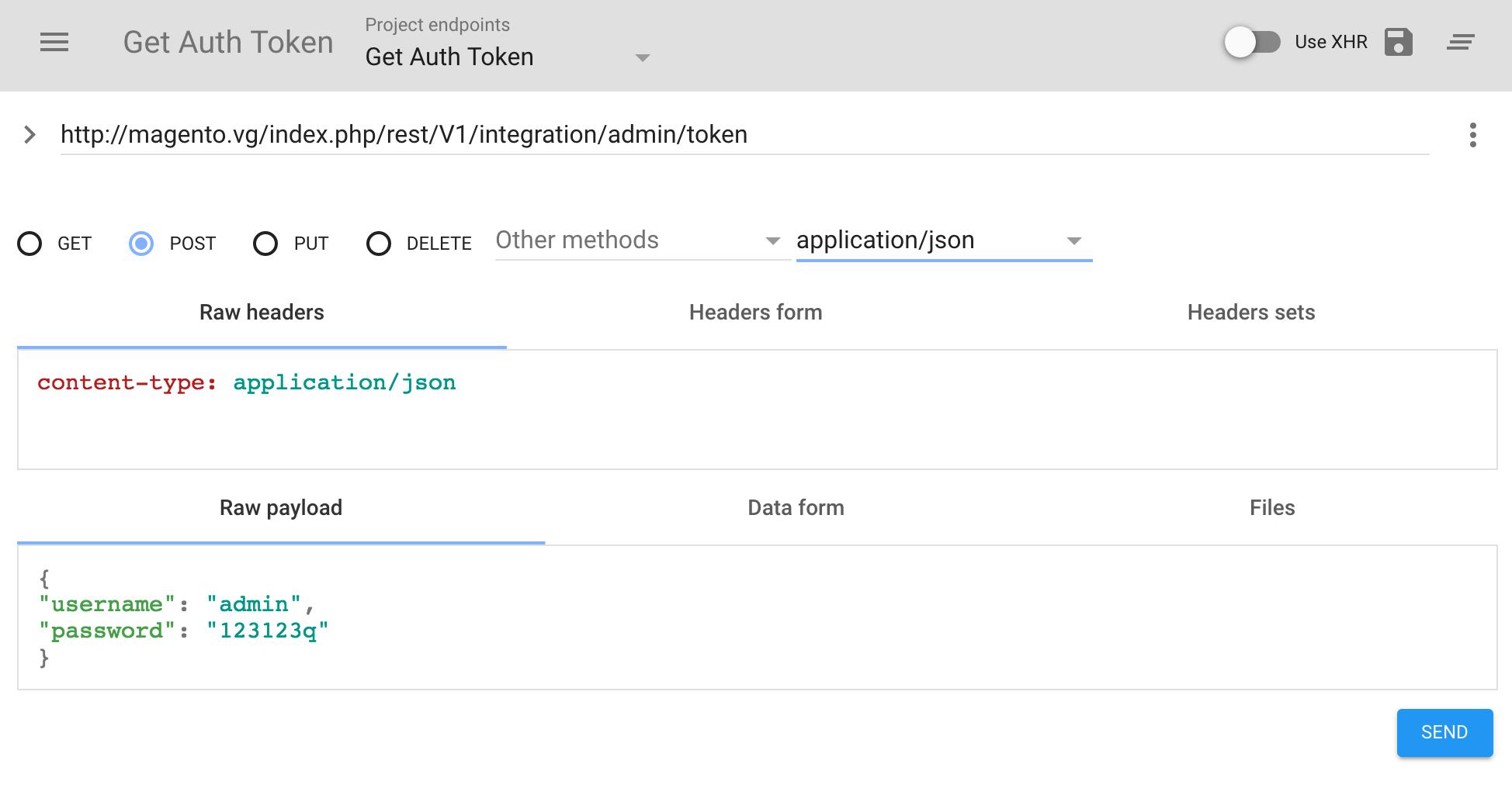 Auth token json 7 0 - Cryptokitties clone