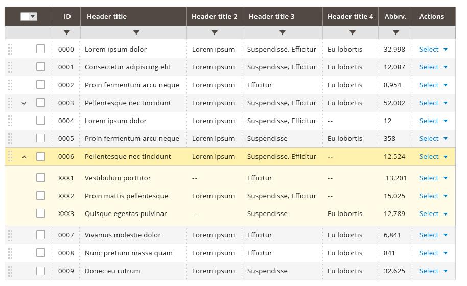 Data Table | Magento 2 Developer Documentation