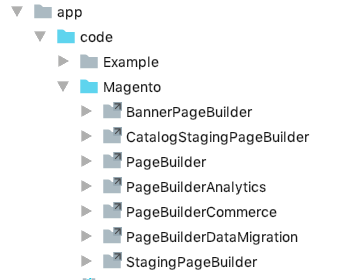 Symlinks to Page Builder